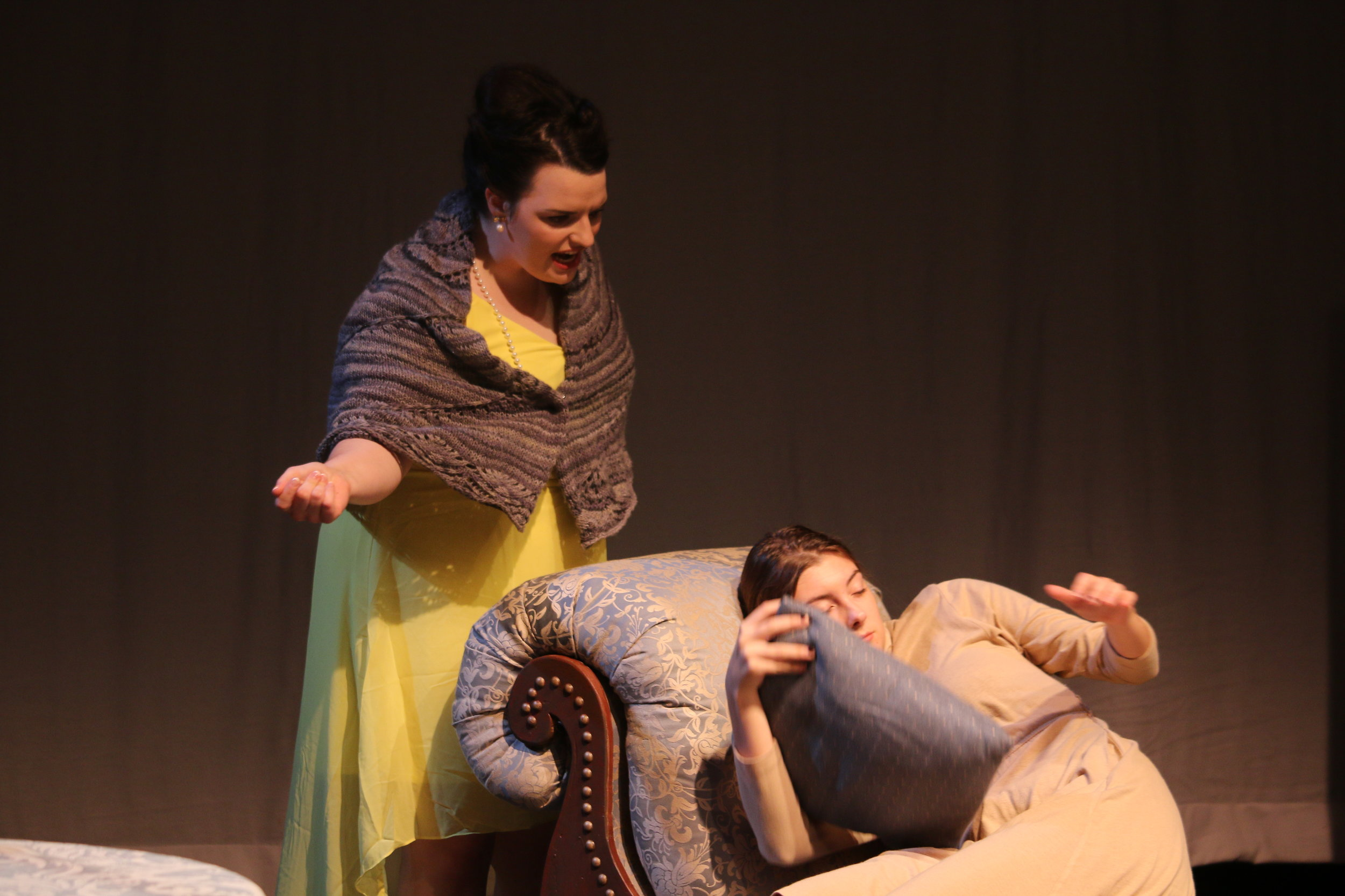 Madame Pernelle in  Tartuffe  (Emerson Shakespeare Society)