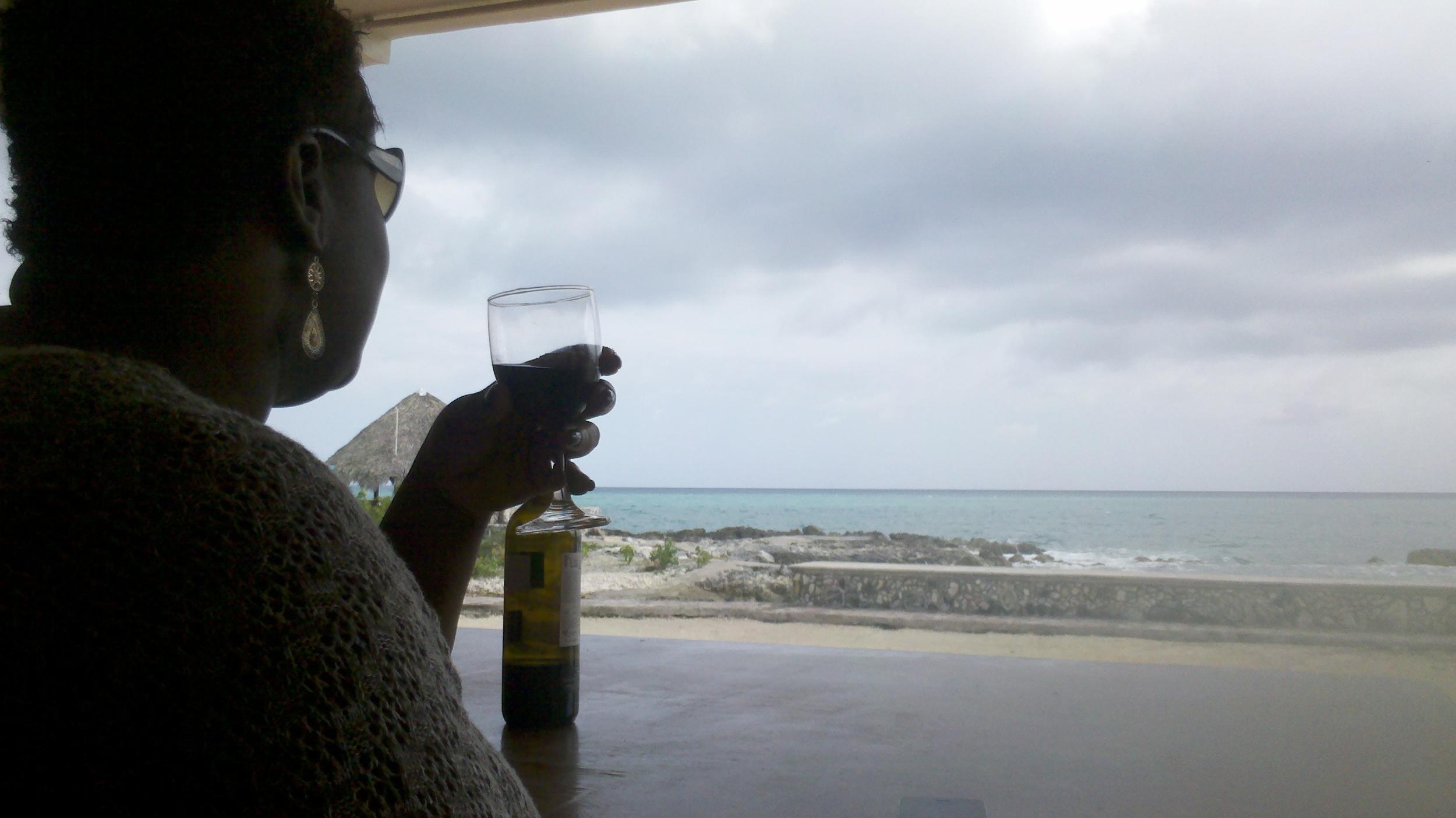 Woman Wine Sea.jpg