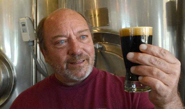 Brewmaster and Co-Owner Mike Campbell