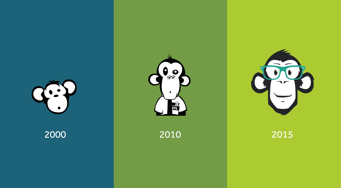 Evolution of the brand