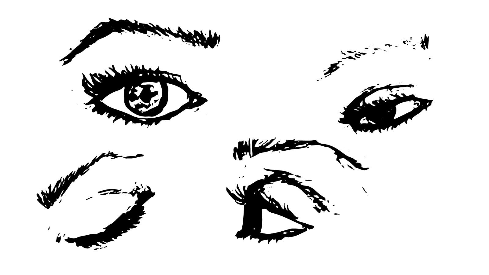 Illustrations Portfolio - Merissa Fernandez _Eyes on You (Sketch).jpg