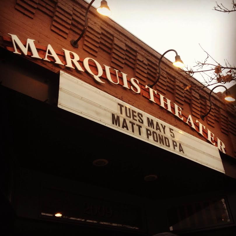 """As Matt said, """"The marquee of the marquis"""". Photo Credit:   Hannah Oreskovich"""