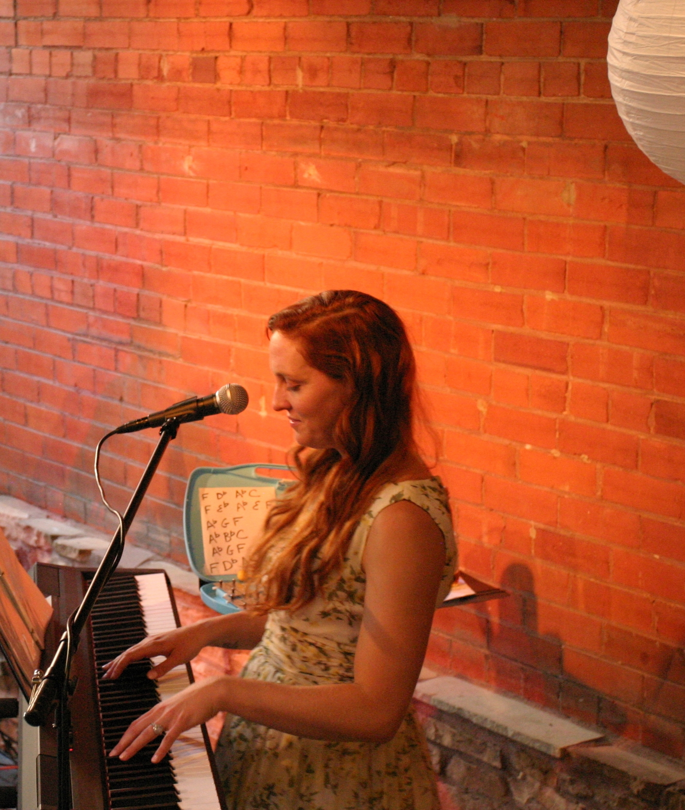 Dodd on keys. Photo Credit:    Hannah Oreskovich
