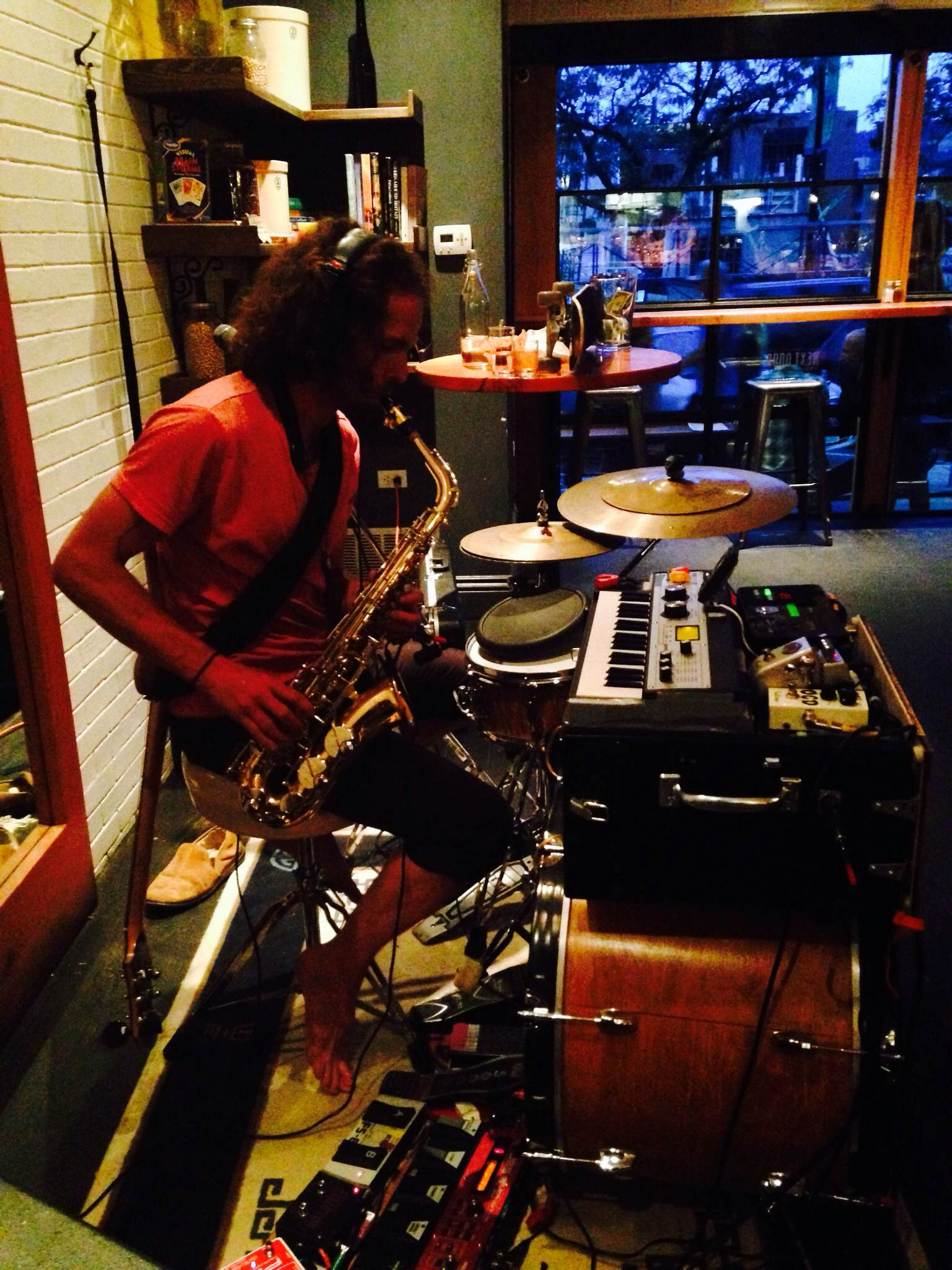 sax-y. Photo Credit: Becky Guidera