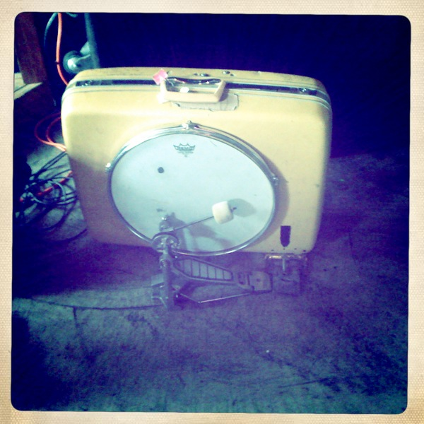 Indie Folk Loves the Suitcase Kick Drum.