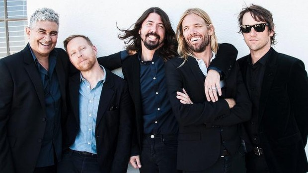 2015 Foo, preparing for a show in the suburbs.  Image via   SMH  .