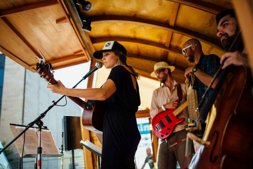 Denver singer/songwriter Katherin (KT) Holmes.