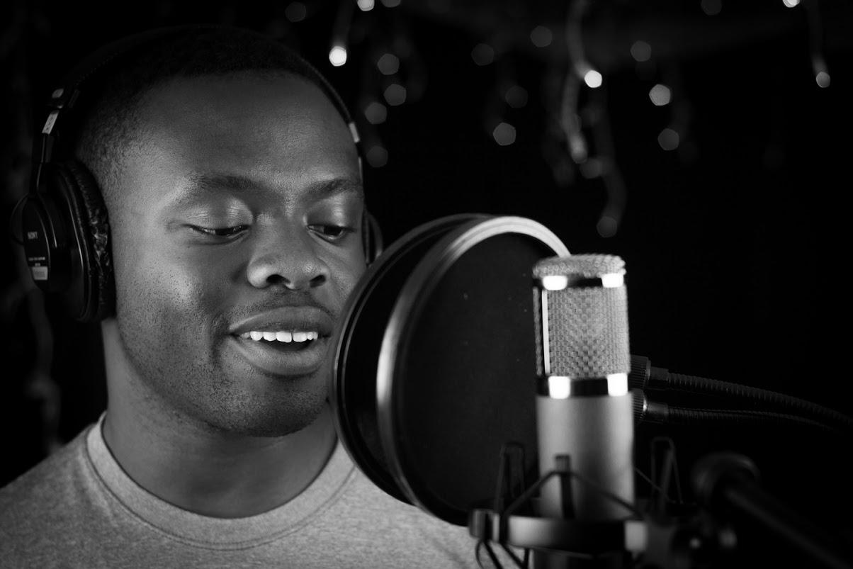 Mawule recording at   The Spot Studios in Denver .