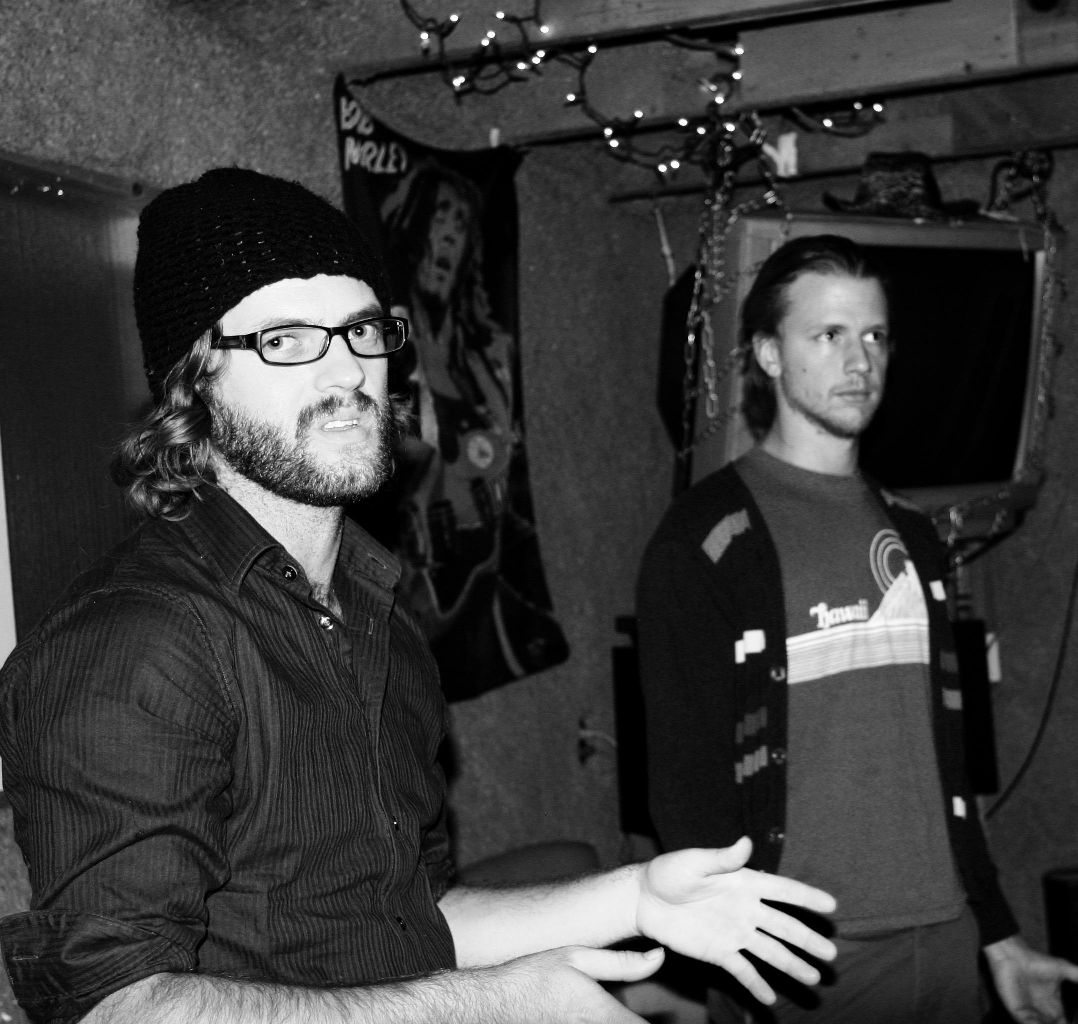 Hunter & Joshua at Studio 700 talkin' 'bout Studio 700.