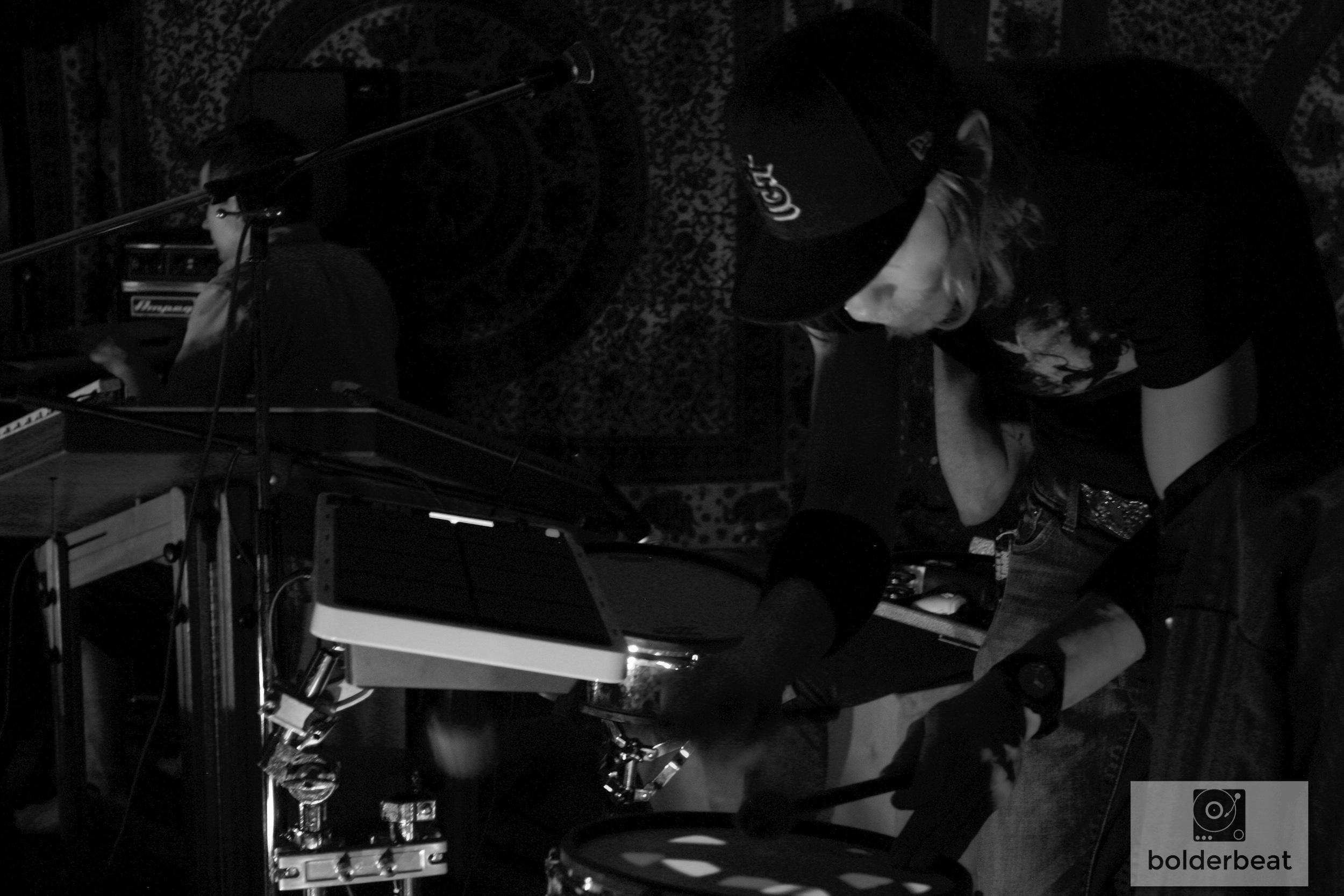 Matty Schelling on the beats.