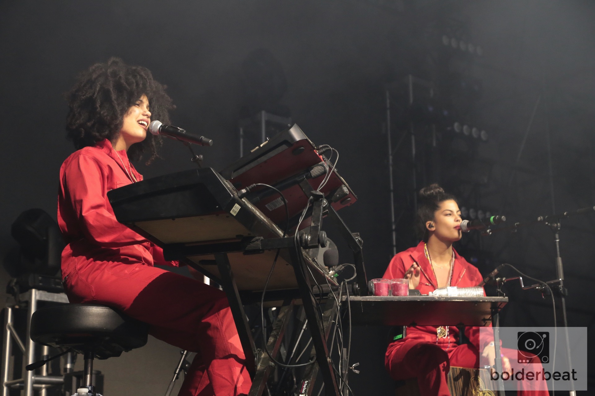 The French Cuban twins of Ibeyi.
