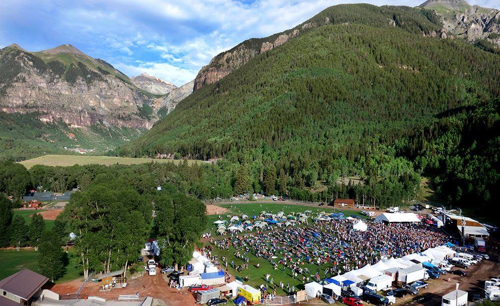 Views on views at Telluride's Ride Festival.