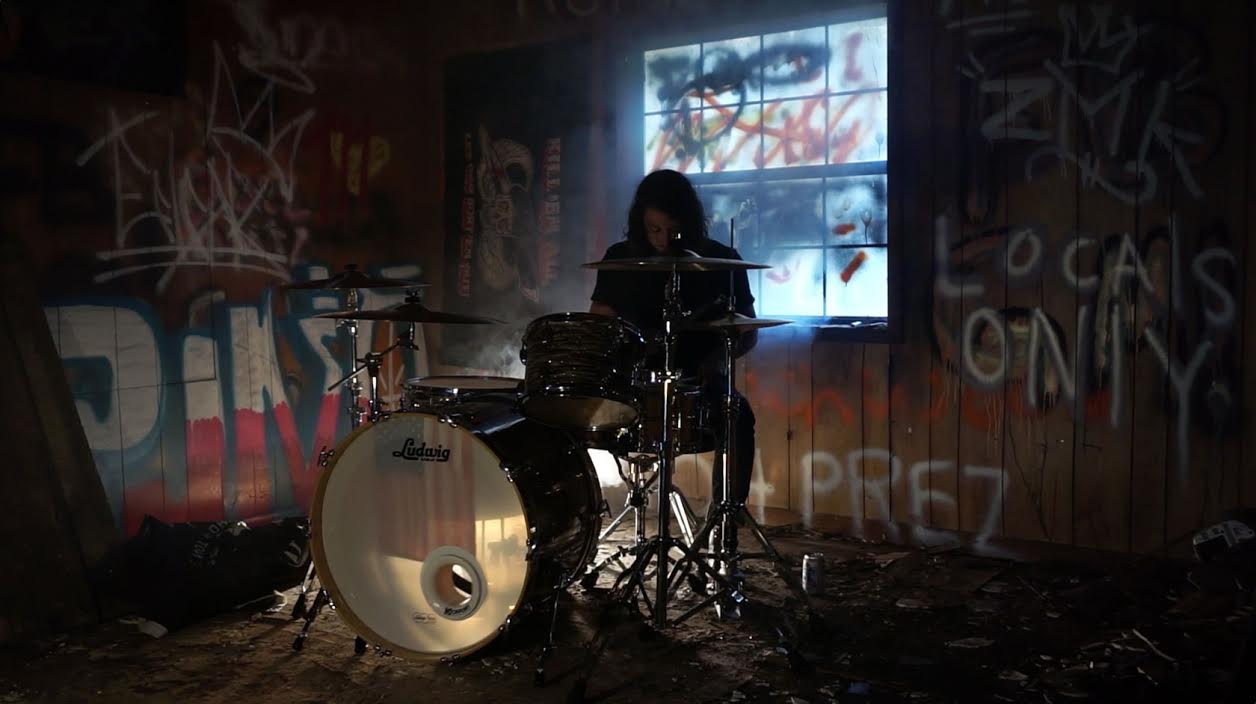 "A scene from Skytown's new music video for ""Through Circles""."
