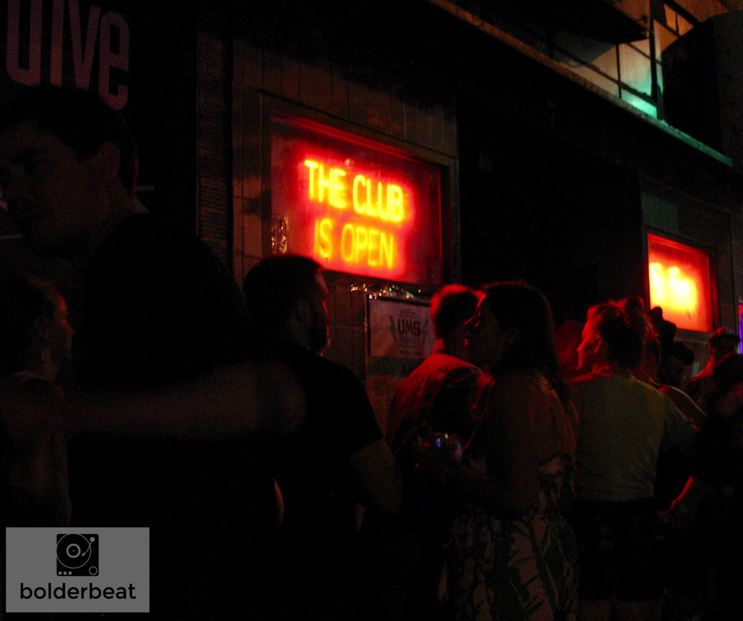 NightLife outside of the Hi-Dive. Photo Credit:  Hannah Oreskovich