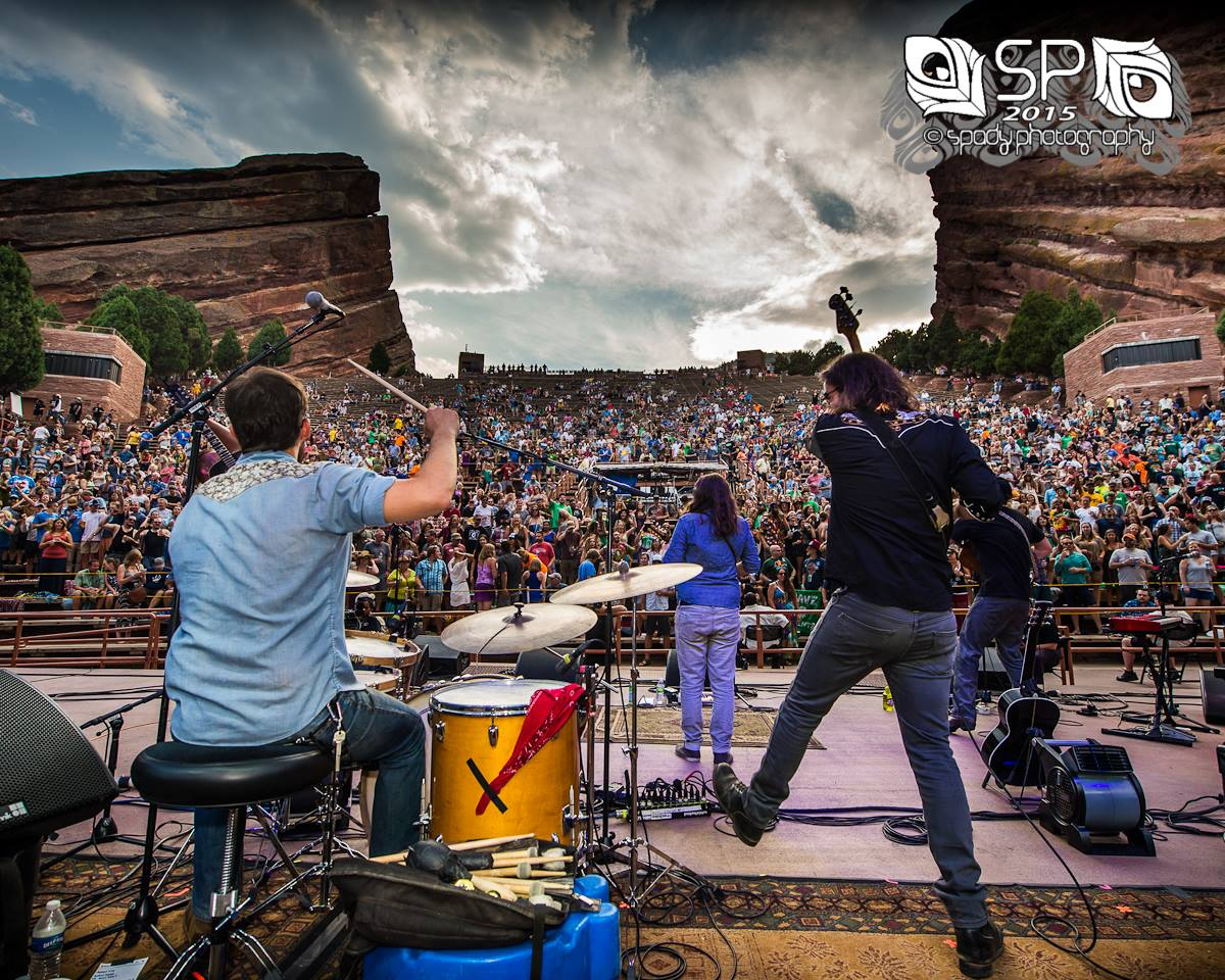 Fruition at Red Rocks. Photo Credit:   Spady Photography