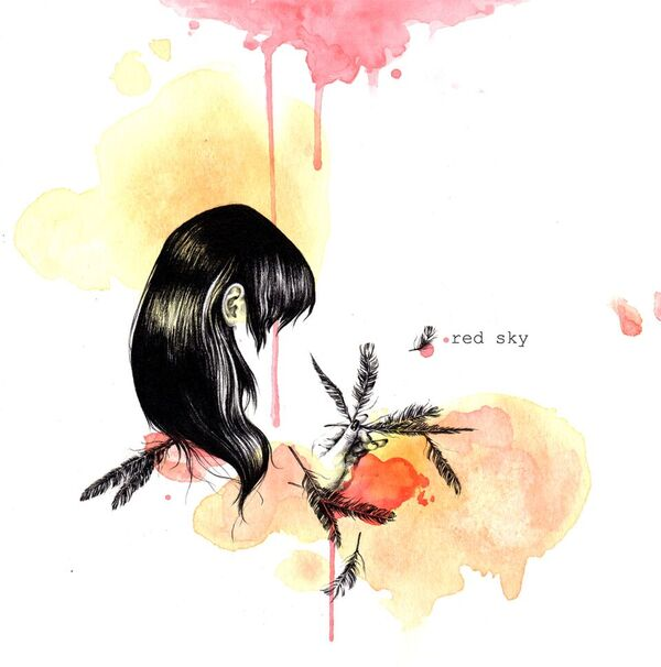 The album art for  Red Sky .