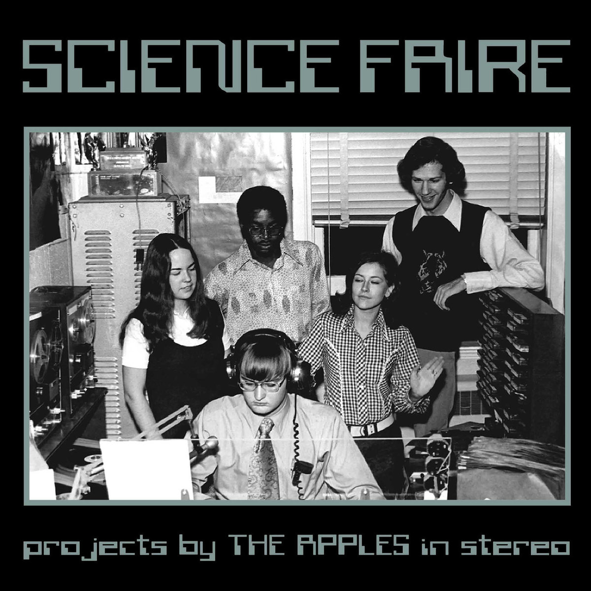 The artwork for the  Science Faire  compilation album.