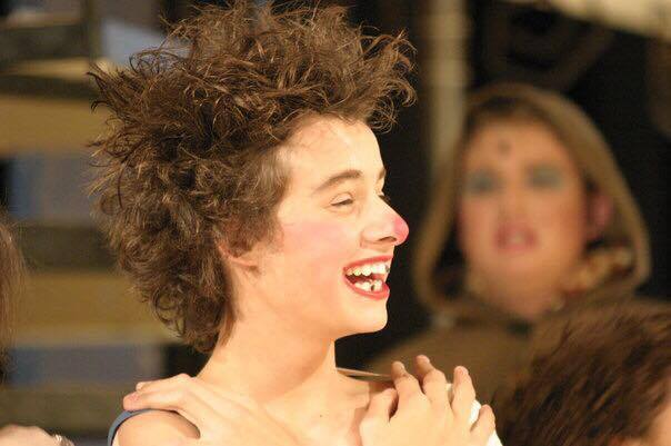 "Nic performing in DSA's ""A Funny Thing Happened On The Way To The Forum."" Photo by Edward Davidson 2005."