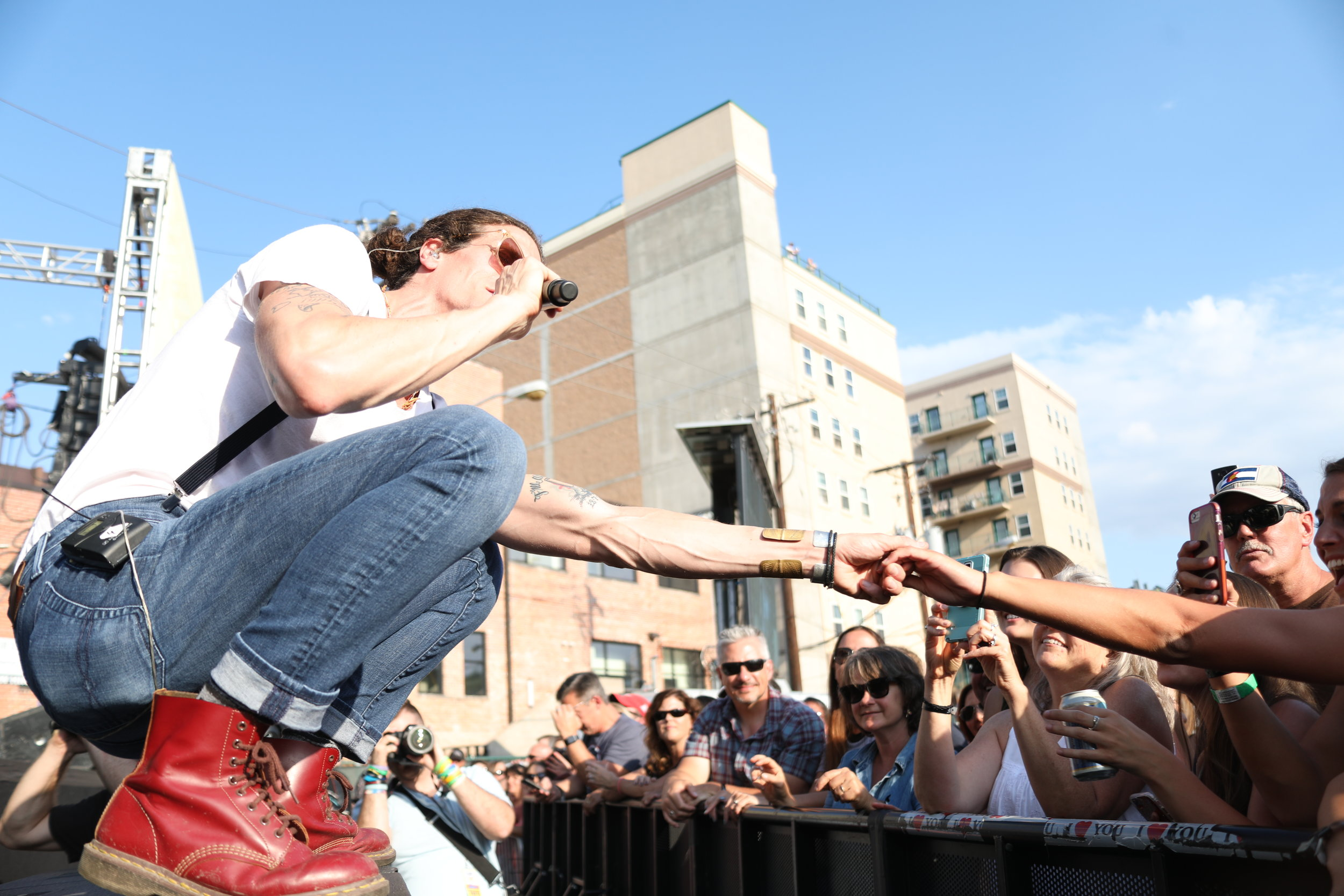 The Revivalists at Westword Music Showcase.