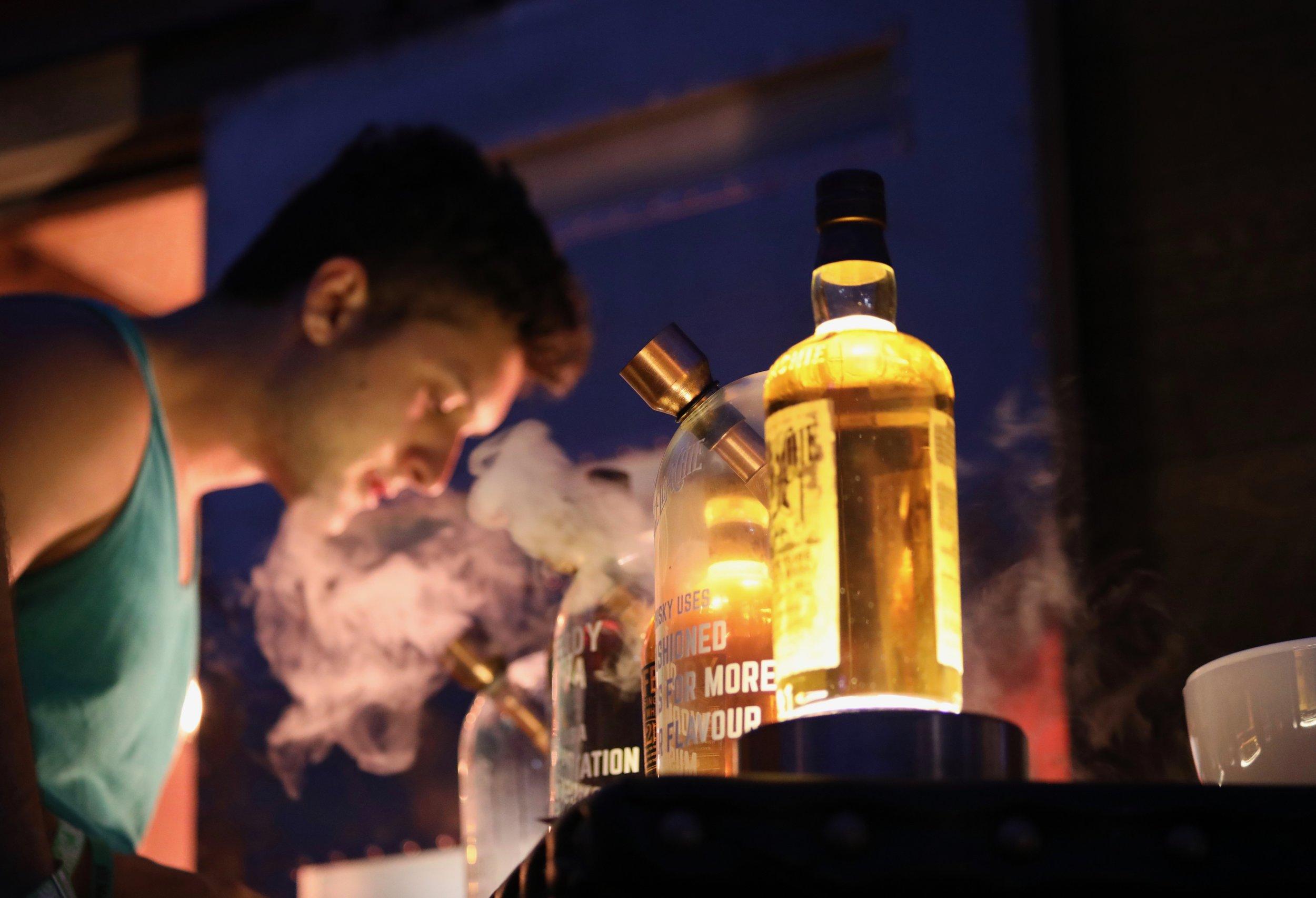 Dewar's Whiskey Emporium.