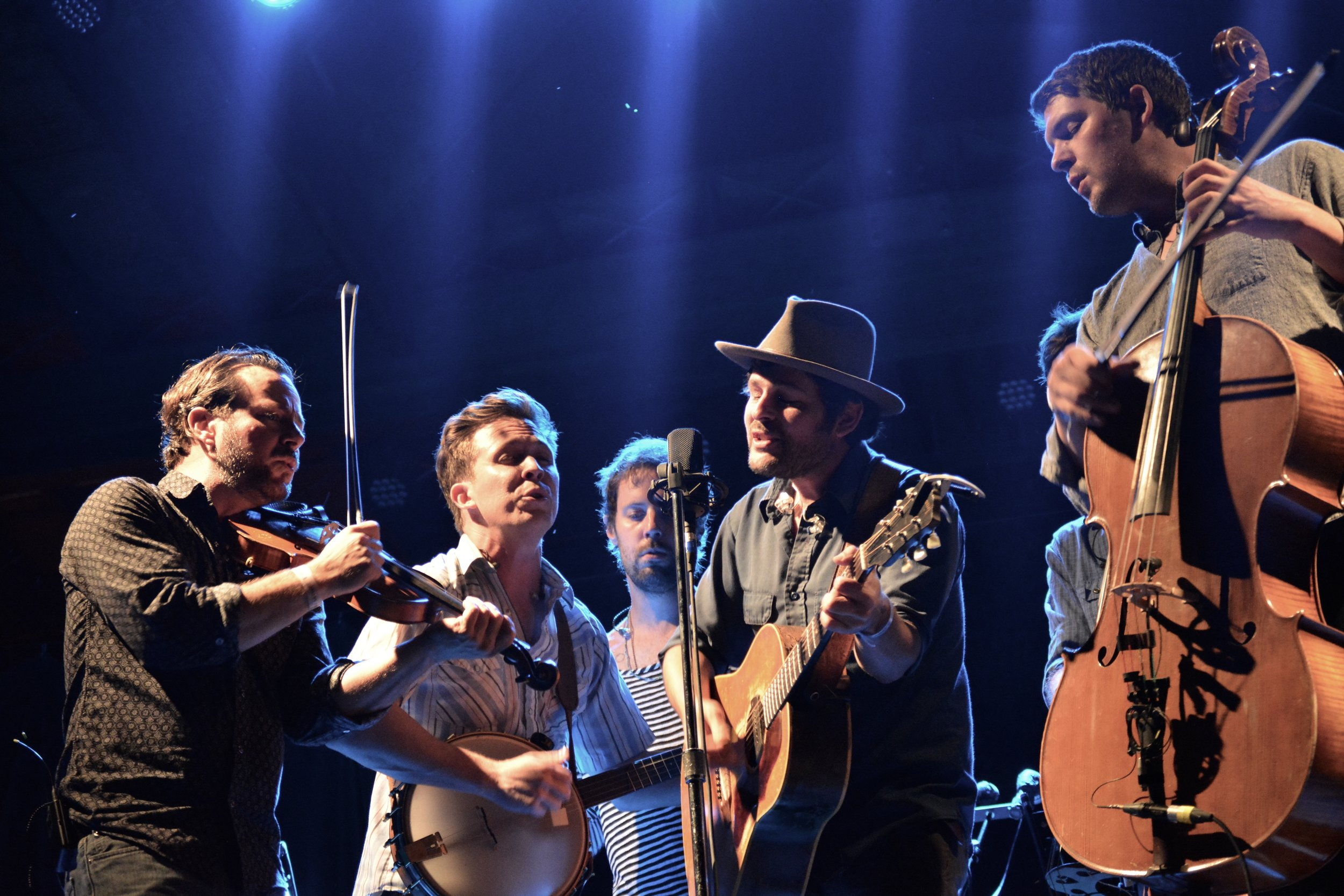 Gregory Alan Isakov with his band.jpg