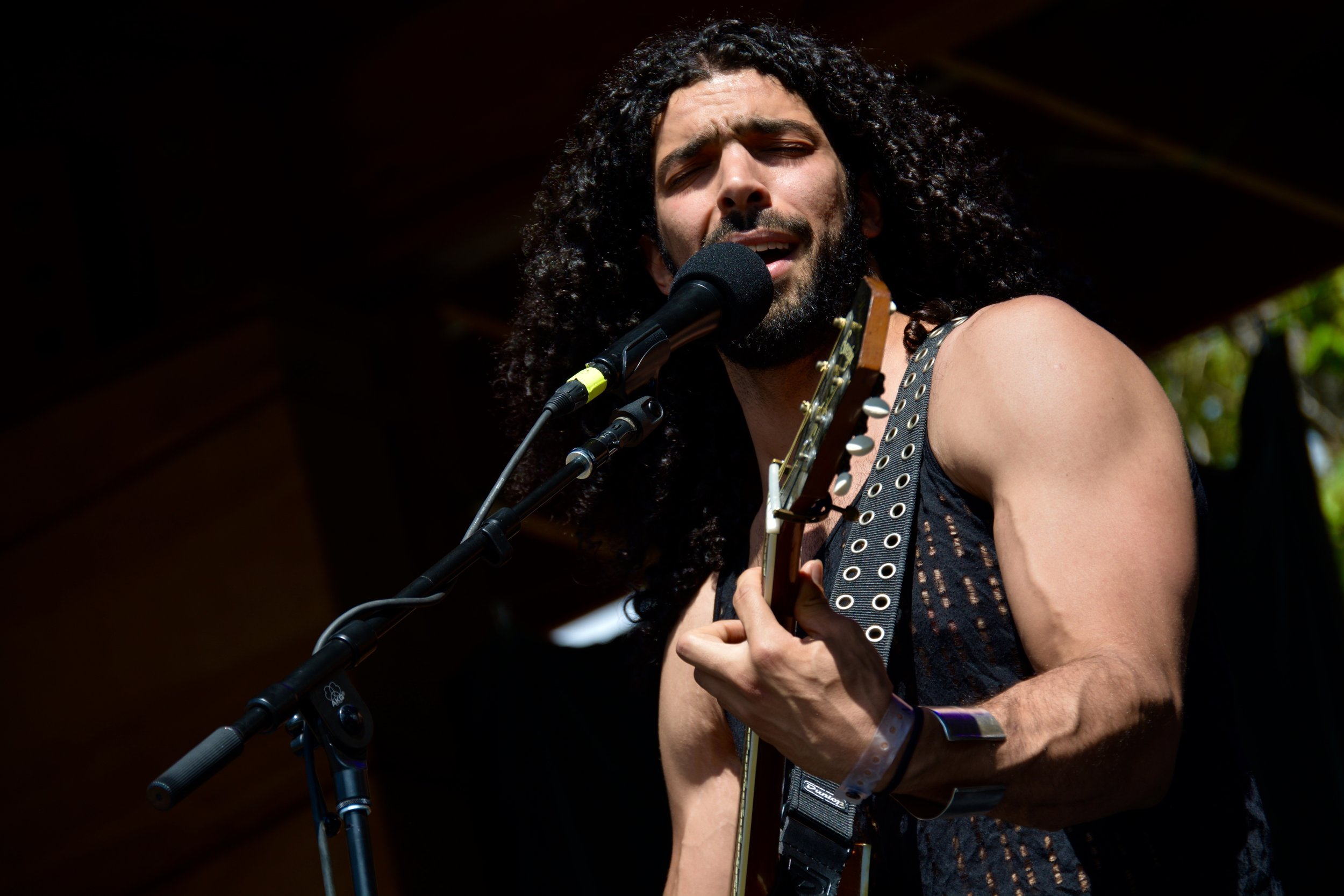 Ramy Essam moved the crowd with his songs that helped shape the Egyptian Revolution.jpg