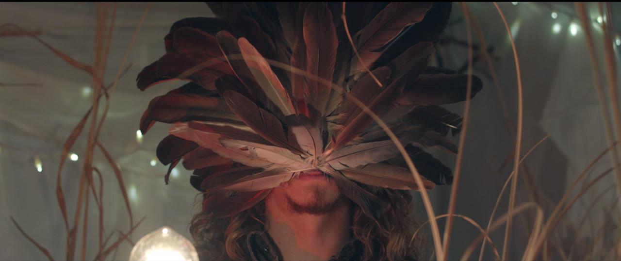 """Brent Cowles as the """"voodoo priest."""""""