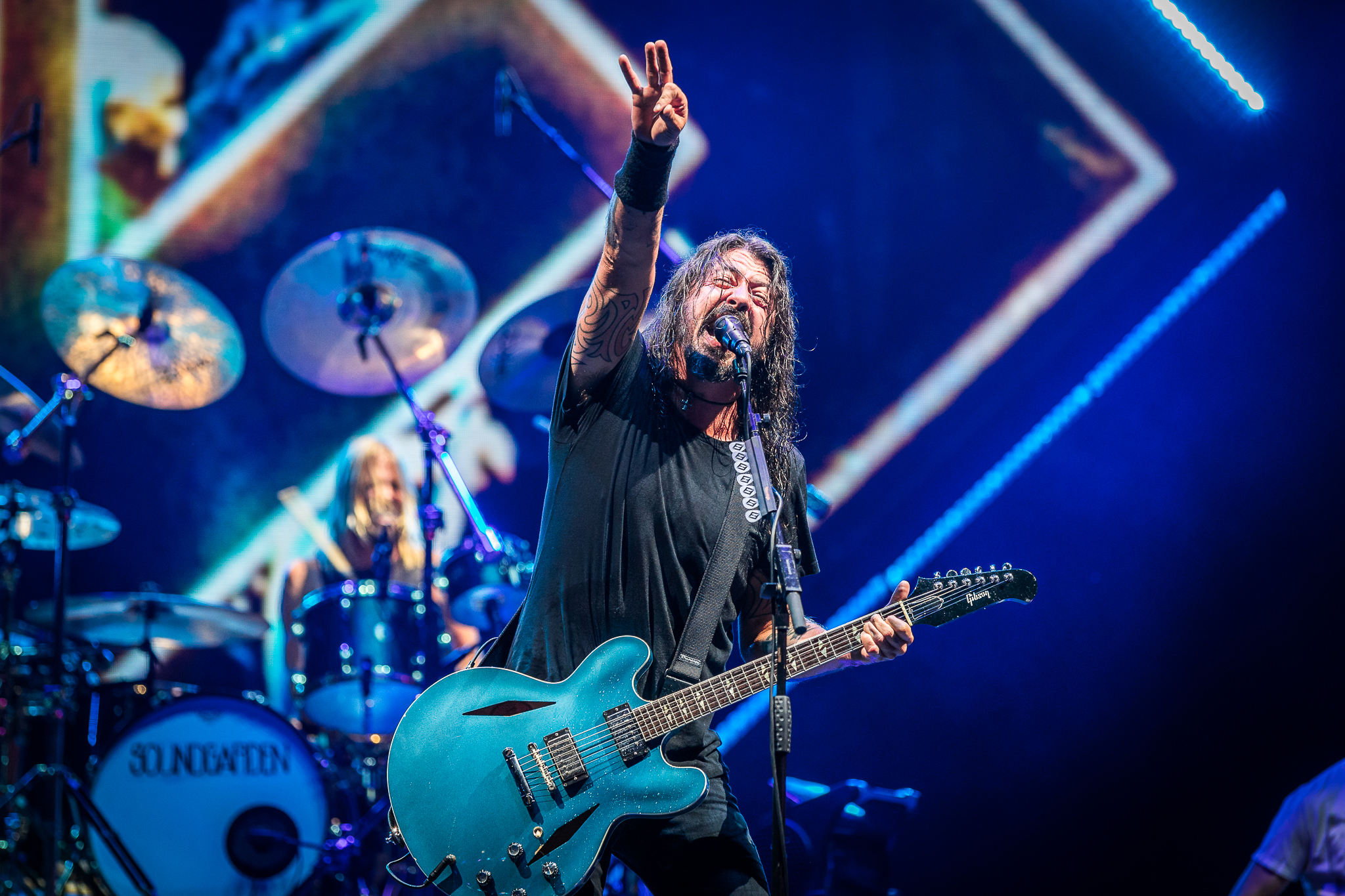 Foo Fighters. Photo per Alive Coverage.