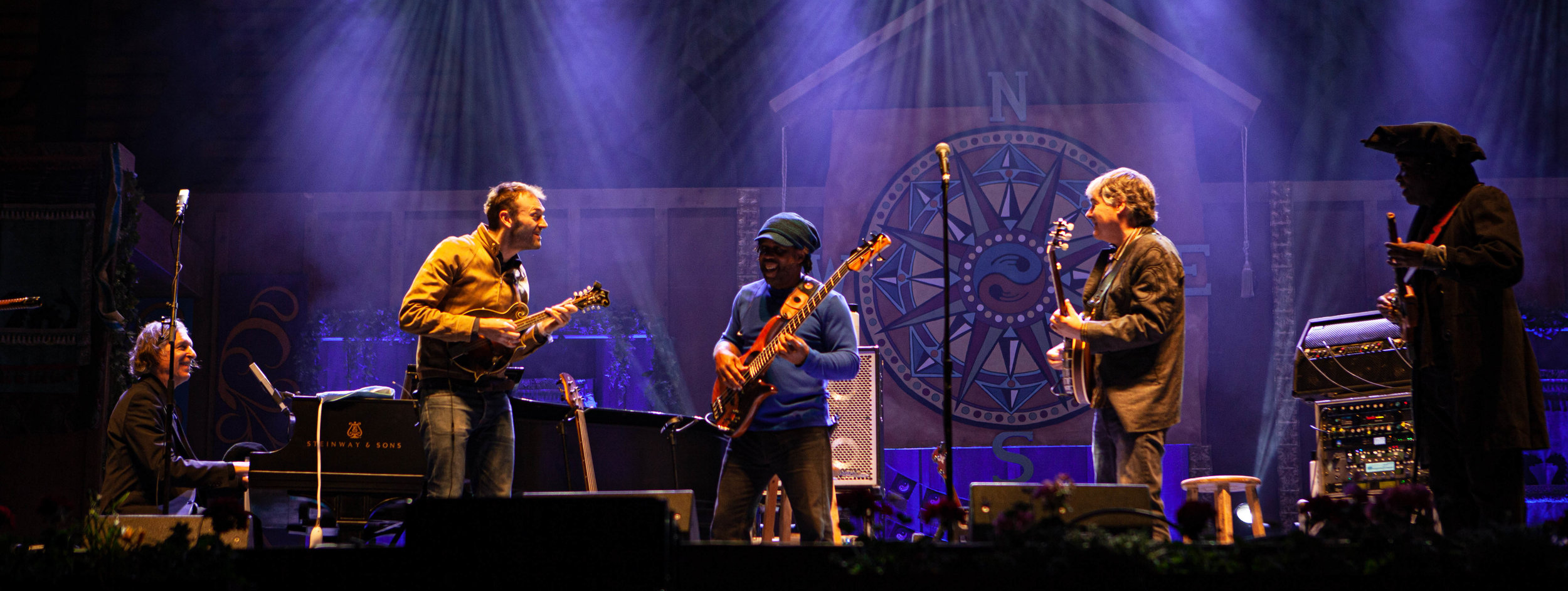 Bela Fleck & The Flecktones.