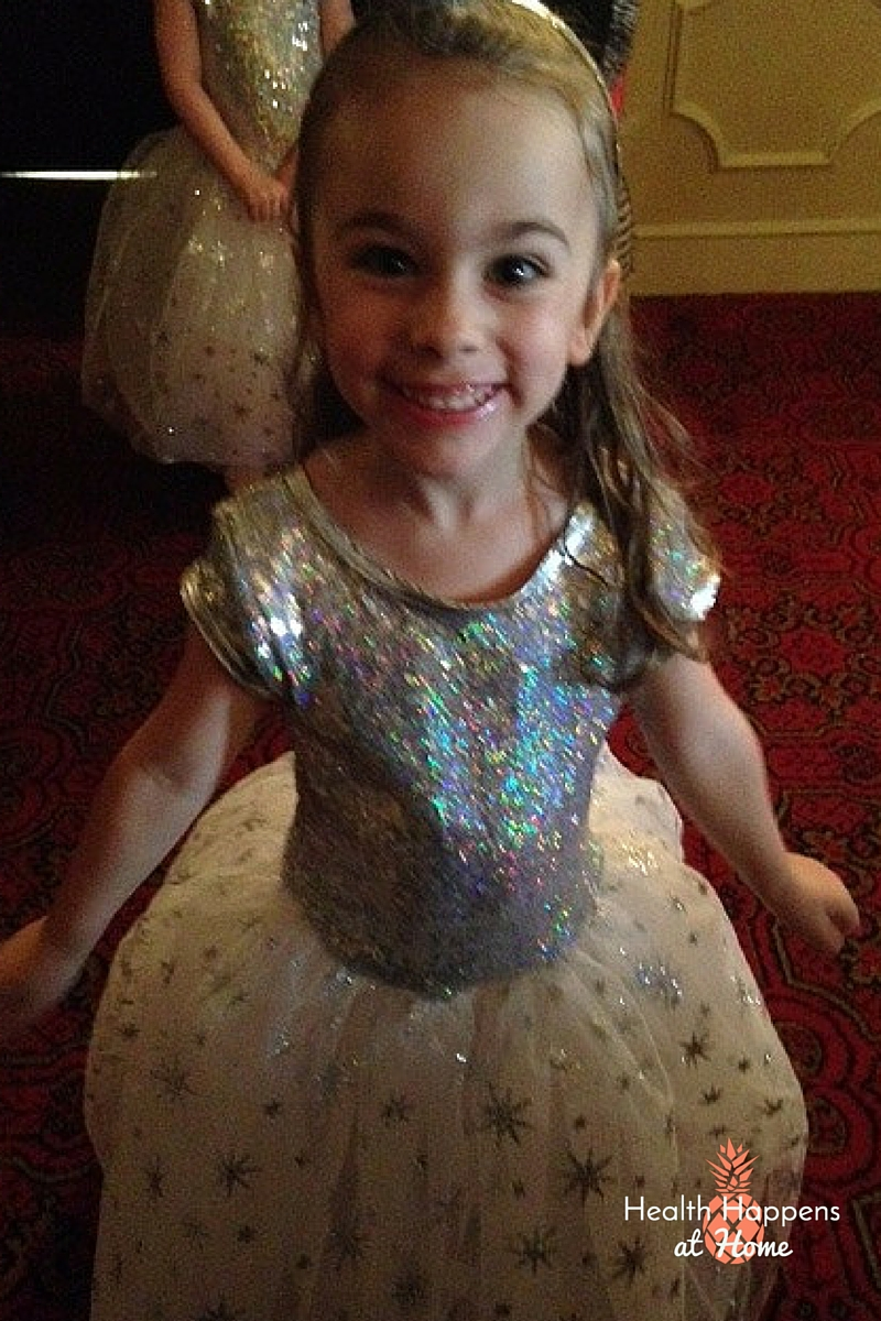 A fuzzy iphone photo doesn't do justice to my beautiful ballerina!