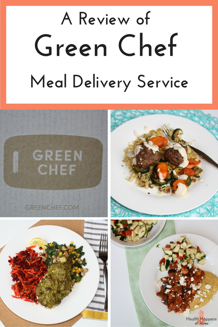 A review of the Green Chef meal kit service. Read more to determine if this service is right for you or Pin for later. - Health Happens at Home