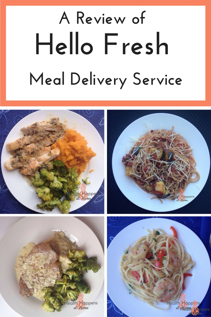 A review of the Hello Fresh Meal Kit service. Read now or pin for later. - Health Happens at Home