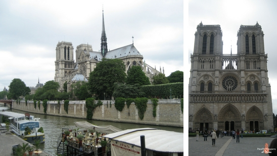 The Notre Dame Cathedral. So beautiful!