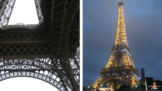 The Eiffel Tower. We went to the top. It was amazing...and terrifying! It is so much bigger than I expected!