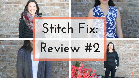 Stitch Fix  - a review of my second fix. Read now or pin for later. - Health Happens at Home