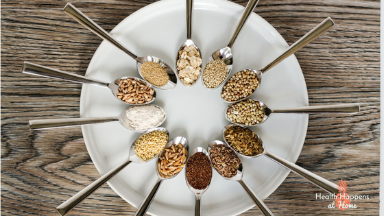 A summary post on ancient grains. Read now or pin for later. - Health Happens at Home