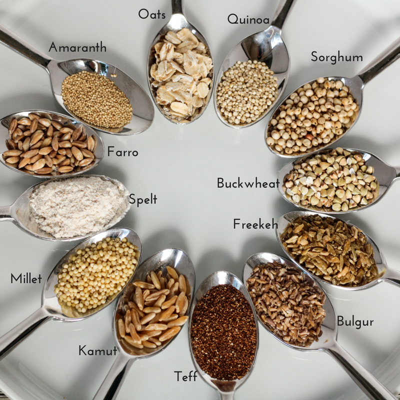 12 ancient grains! Read now or pin for later - Health Happens at Home