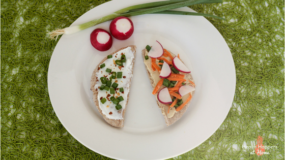 Perfect Pitas for and easy lunch. Get the simple recipe. Read now or pin for later. - Health Happens at Home