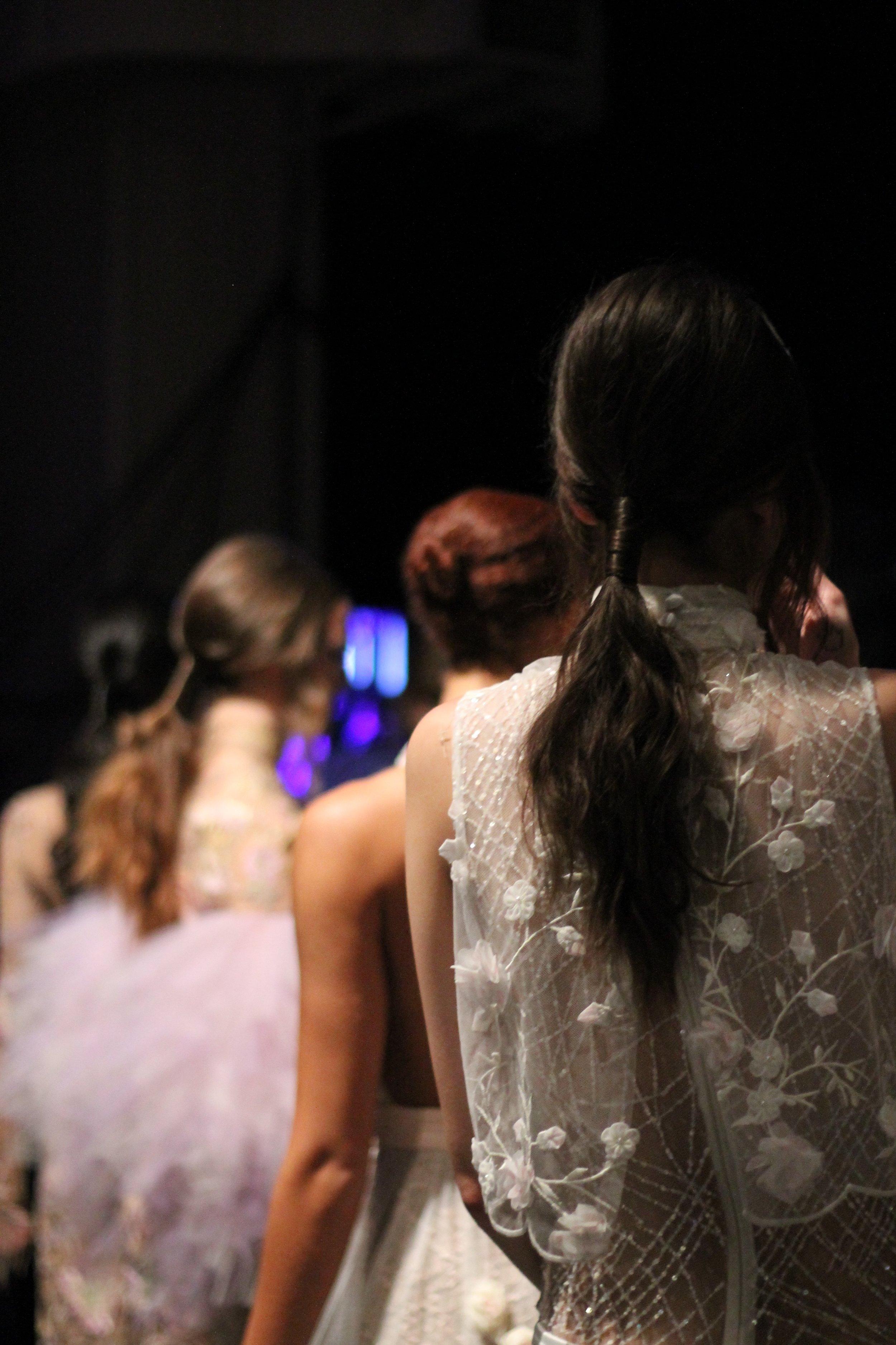 Stephan Caras Backstage at Toronto Women's Fashion Week SS18