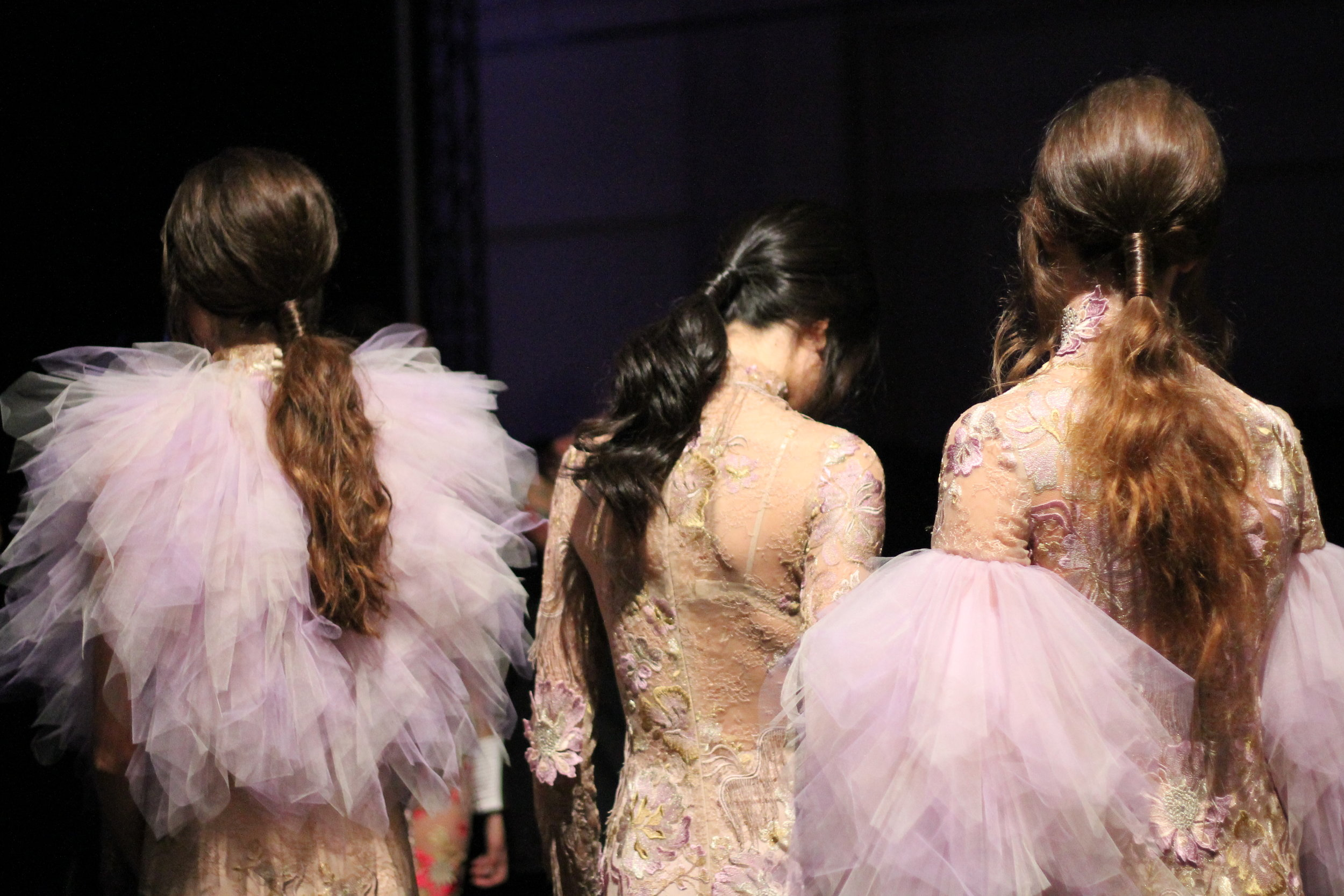 Redken does the Hair for Stephan Caras at Toronto Women's Fashion Week