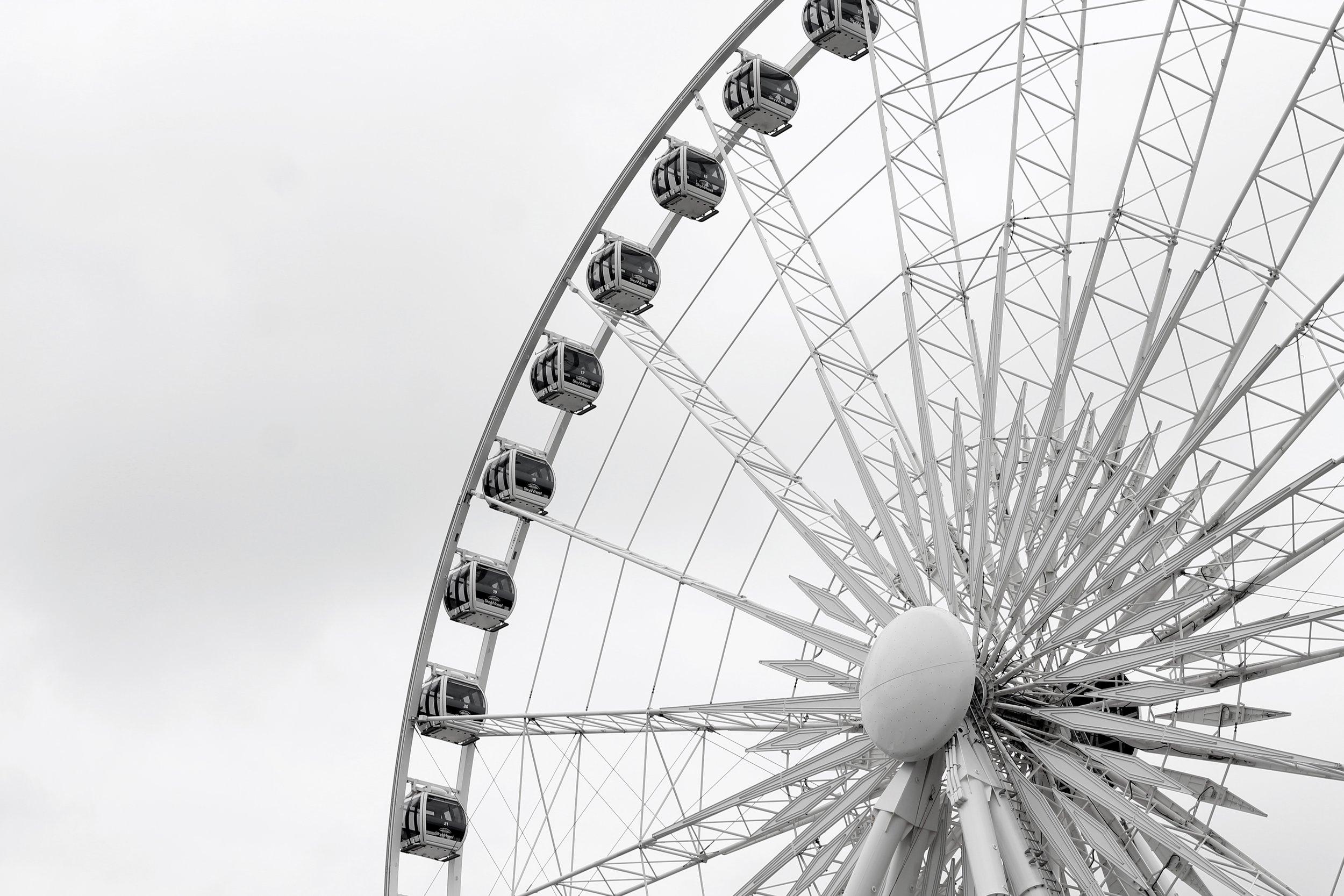 The Skyview Wheel in Clifton Hills in Niagara Falls, ON Canada taken by Bratty B