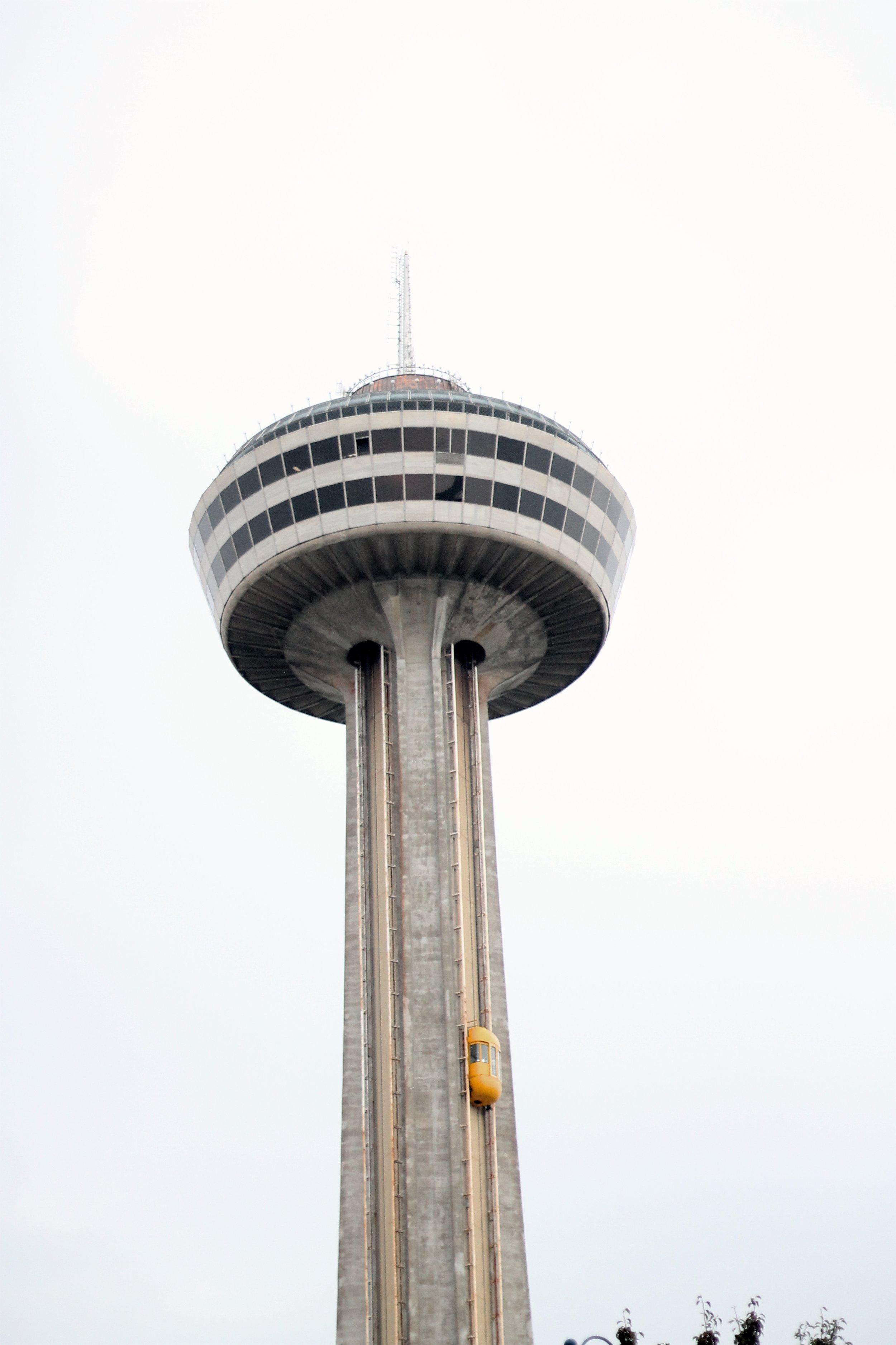 The Skylon Tower in Niagara Falls, ON Canada taken by Bratty B