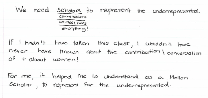"""""""We need scholars 