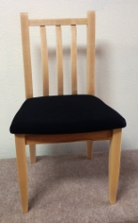 Maple Shea side chair front view