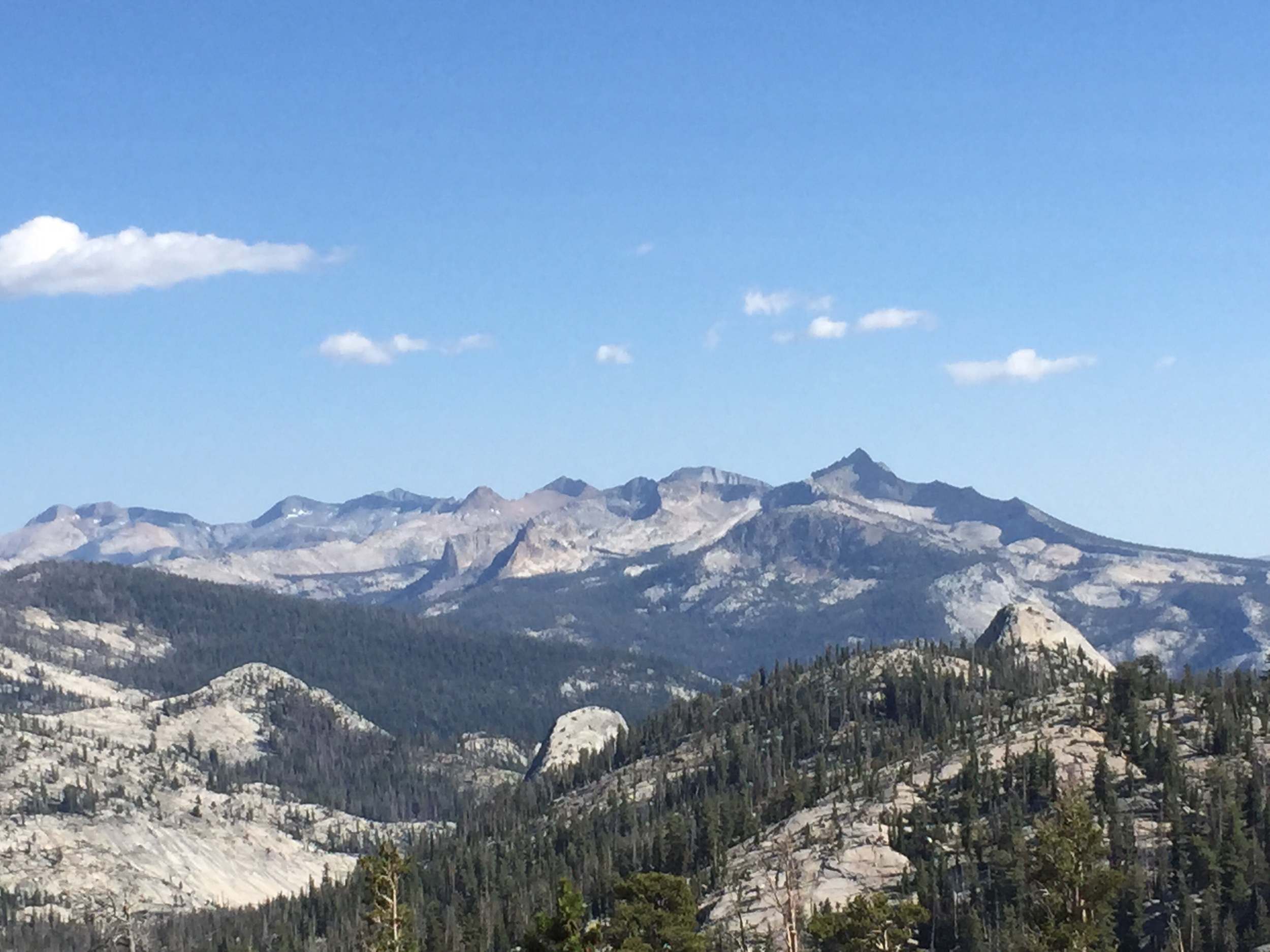 View from Cathedral Pass.