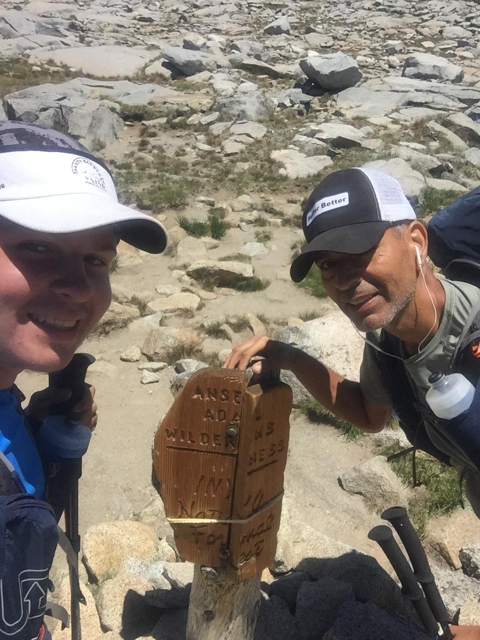 Yosemite-Ansel Adams Wilderness/Inyo Border