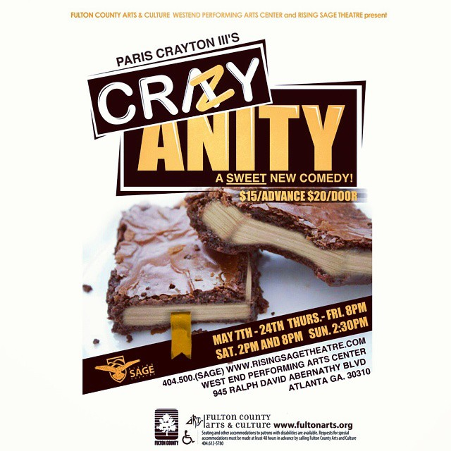 Do you have your tickets yet? #Crazyanity #risingsagetheatre  #comedy #play #onsale