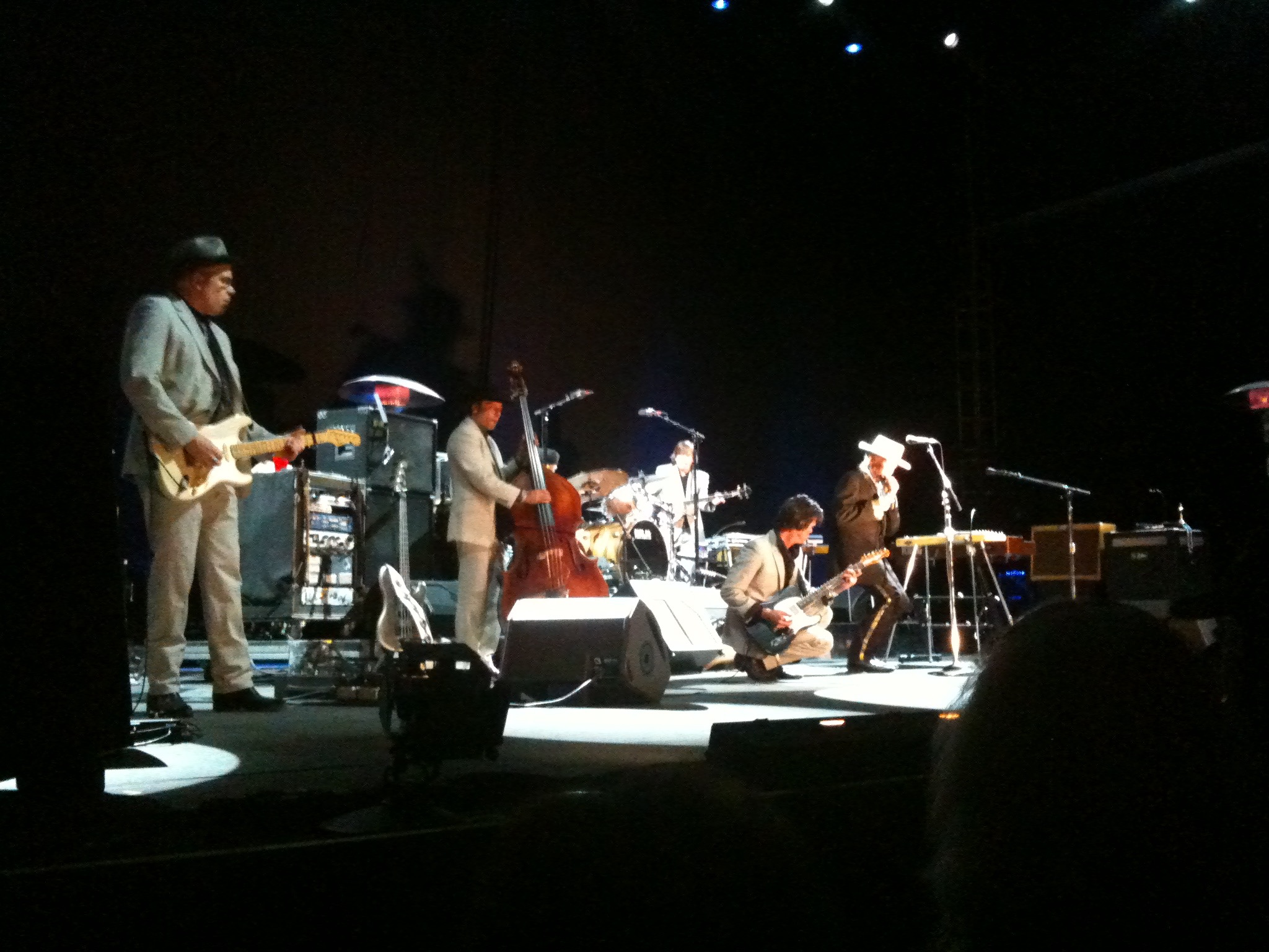 Bob Dylan and his Band. August 2010.
