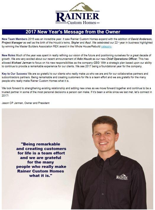 RCH Newsletter Winter 2017