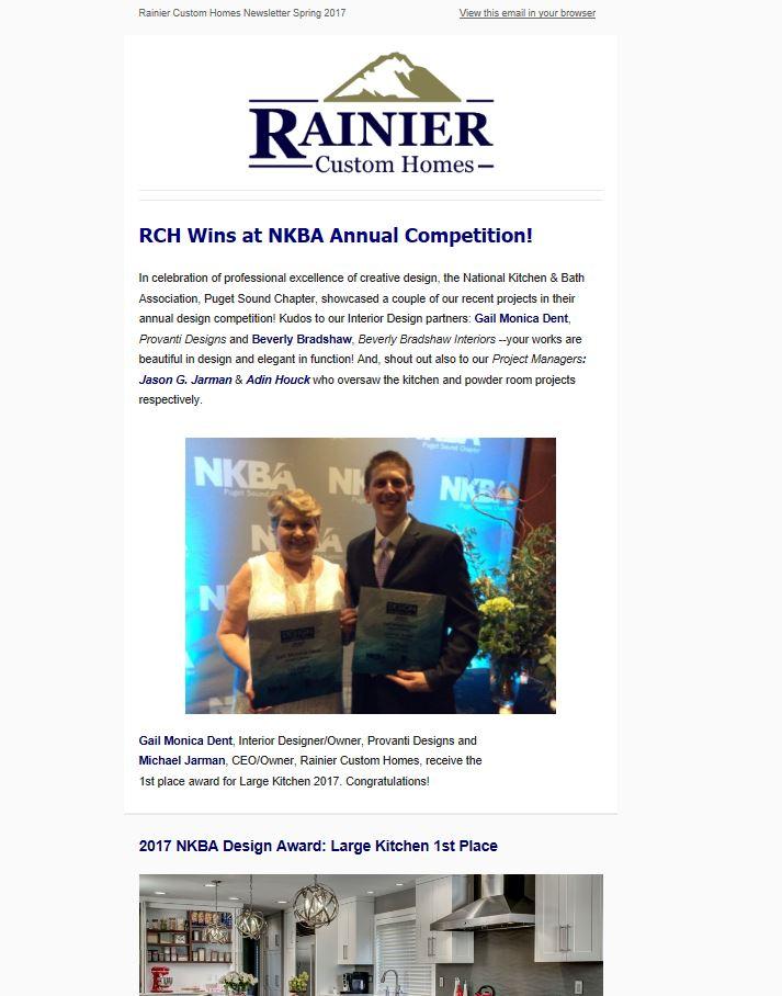 RCH Newsletter Spring 2017